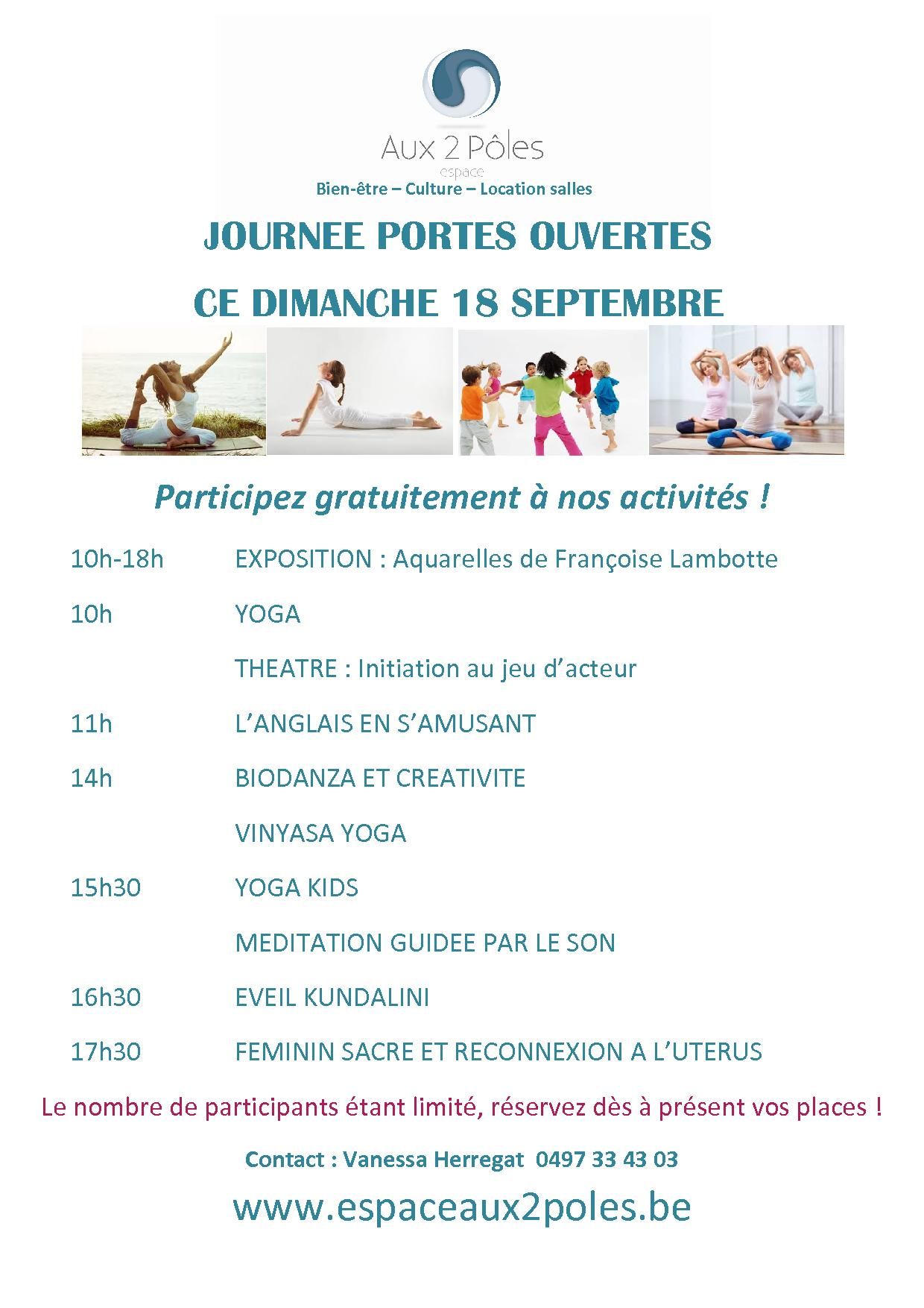 Affiche portes ouvertesx 1